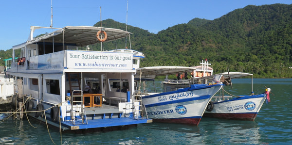 Sea Hunter Tours koh chang snorkeling boat trips fishing