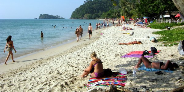 lonely beach koh chang beaches